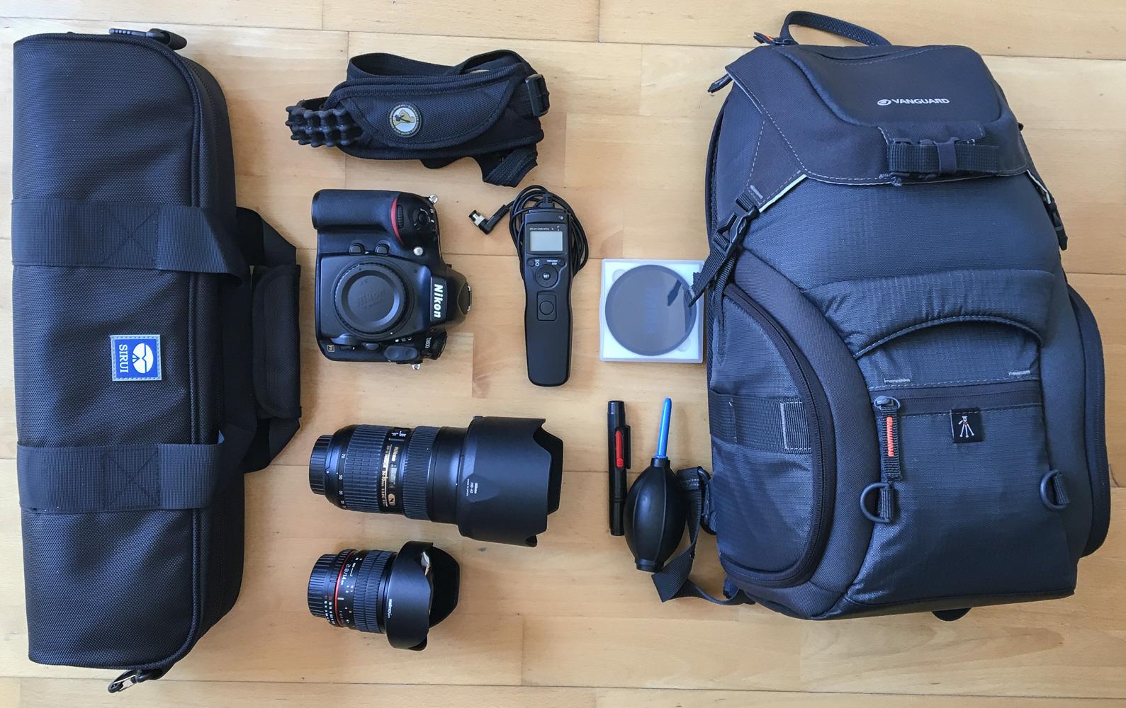 Brockenwanderung - Kamerausrüstung
