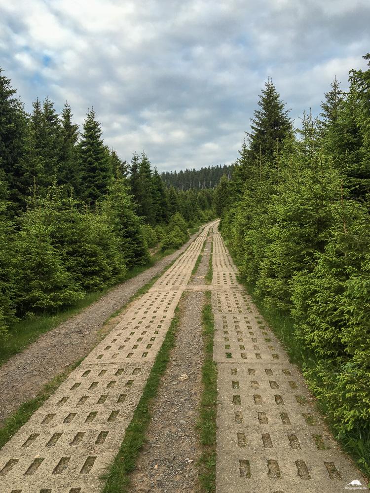 Brockenwanderung - Kolonnenweg zum Brocken
