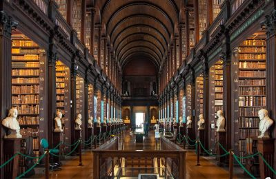 Dublin - Trinity College - Bibliothek