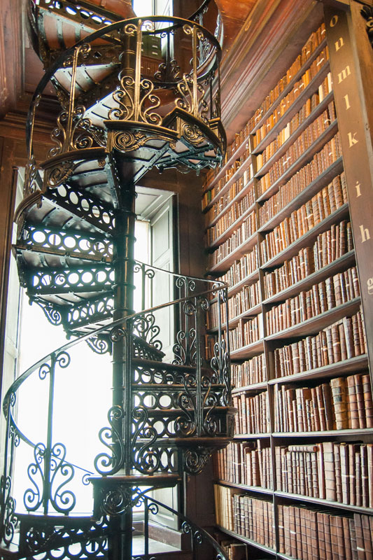 Dublin Trinity College Bibliothek