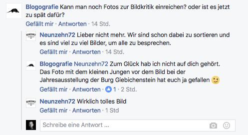 fotoschnack bildbesprechung facebook