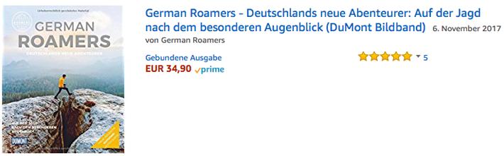German Roamers - Deutschlands neue Abenteurer - Amazon-Link