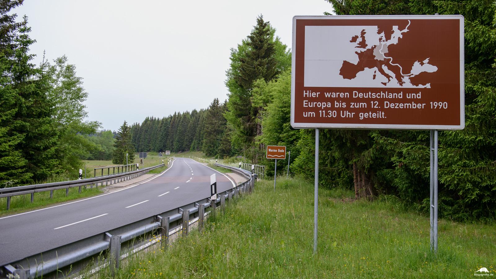 Grenzlandschaft Sorge - Innerdeutsche Grenze im Harz