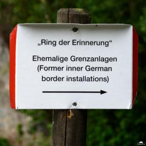 Grenzlandschaft Sorge - Ring der Erinnerung