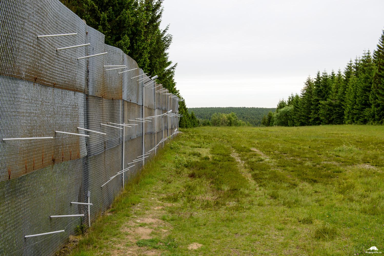 Grenzlandschaft Sorge - Grenzzaun 2