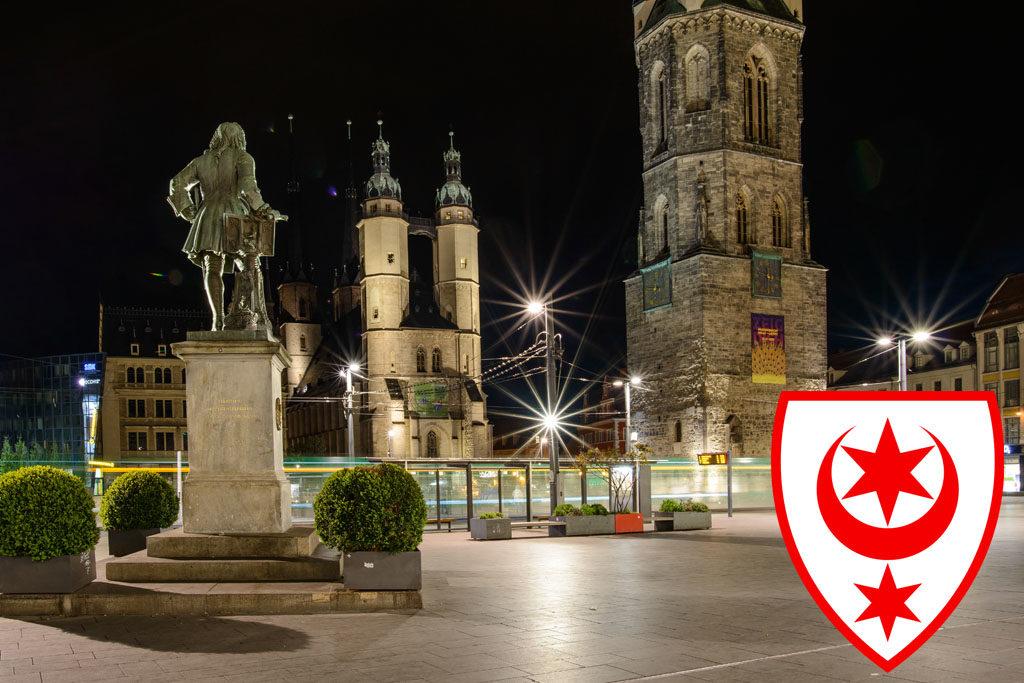 Halle (Saale) Marktplatz