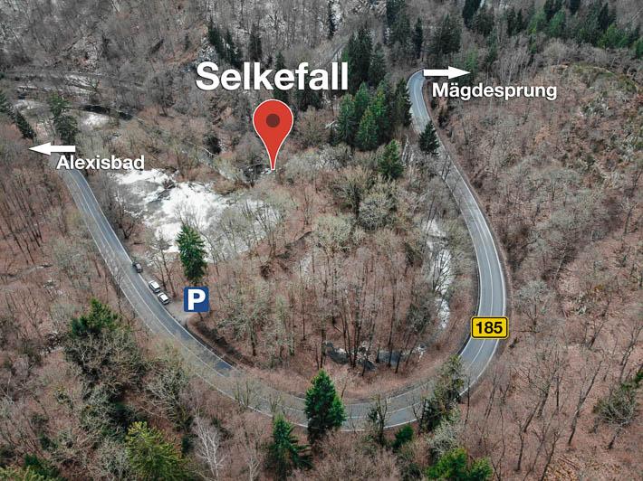 Harz - Selkefall Luftbild
