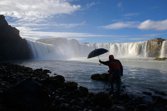 island godafoss fotograf
