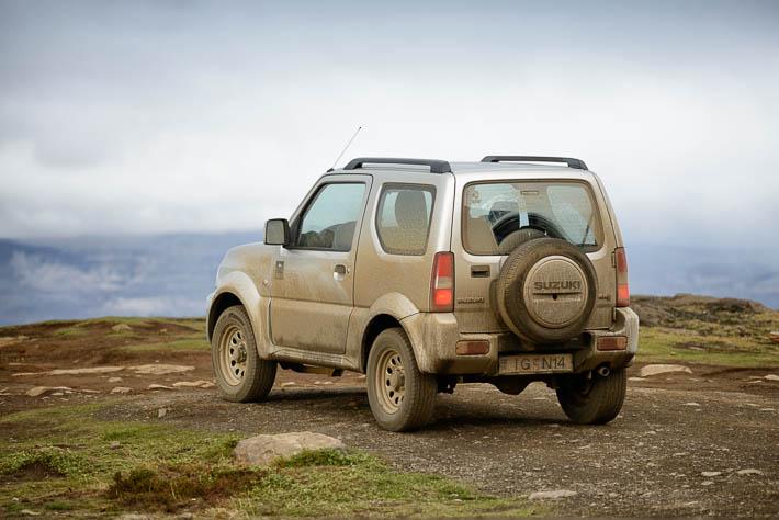 Island - Mietwagen - Suzuki Jimny - Offroad