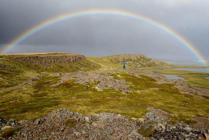 island - regenbogen