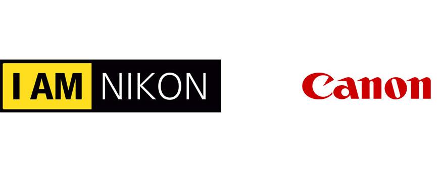 logo-design Nikon Canon