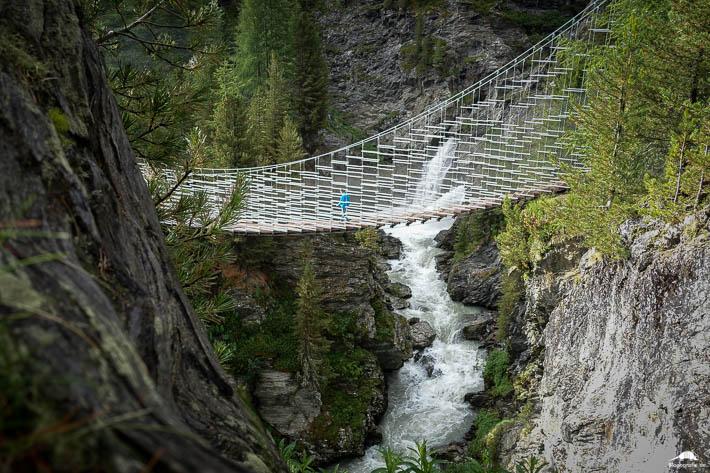 Plima Schluchtenweg - Hängebrücke