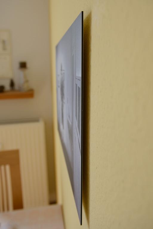 Saal Digital Wandbild - Seitenansicht