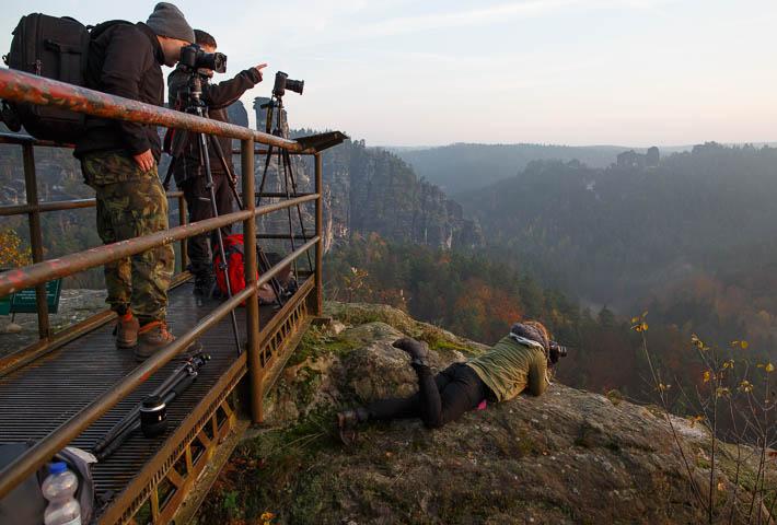 elbsandsteingebirge - bastei - fotografen