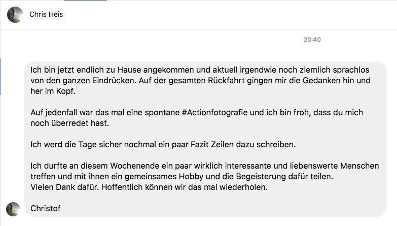 workshop - elbsandsteingebirge - feedback von teilnehmer chris
