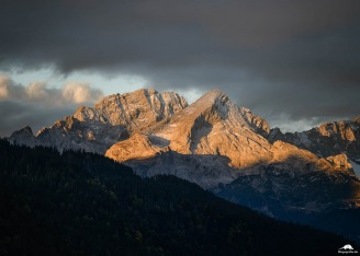 Alpenpanorama-Geroldsee