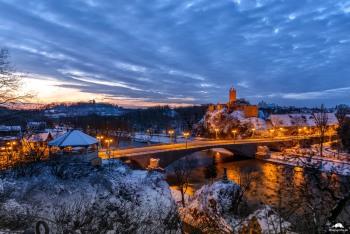 Burg Giebichenstein Winter