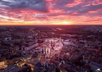Luftbild Innenstadt Halle (Saale)