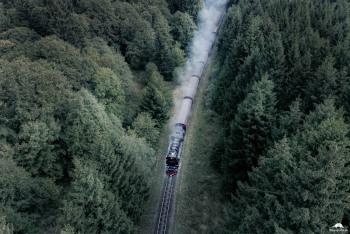 Brockenbahn von oben
