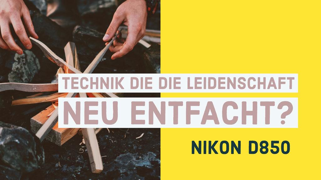 Nikon D850 Effekt