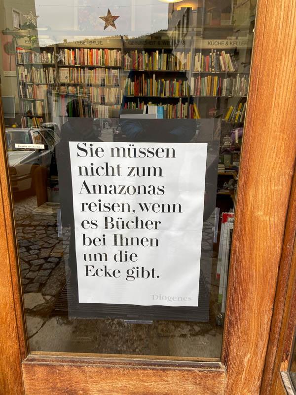 Buchladen statt Amazon-Bestellung