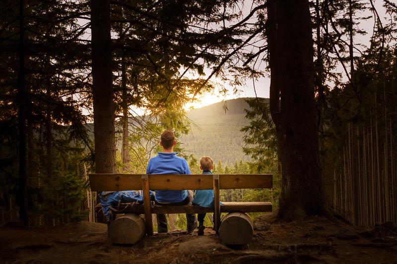 Vater und Sohn im Harz