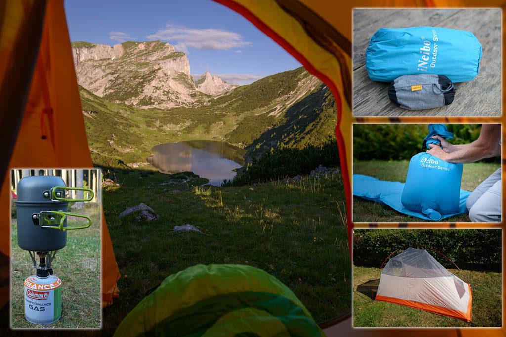 Campingausrüstung für Fotografen