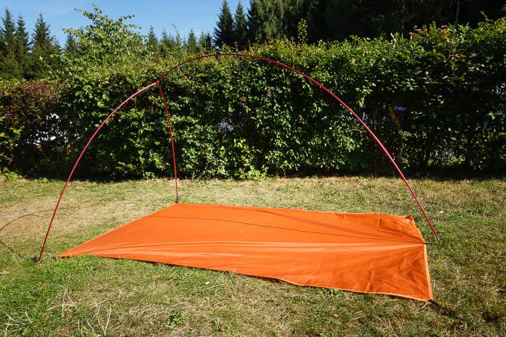 GEERTOP LIBRA 20D (Naturehike) Aufbau des Zelt