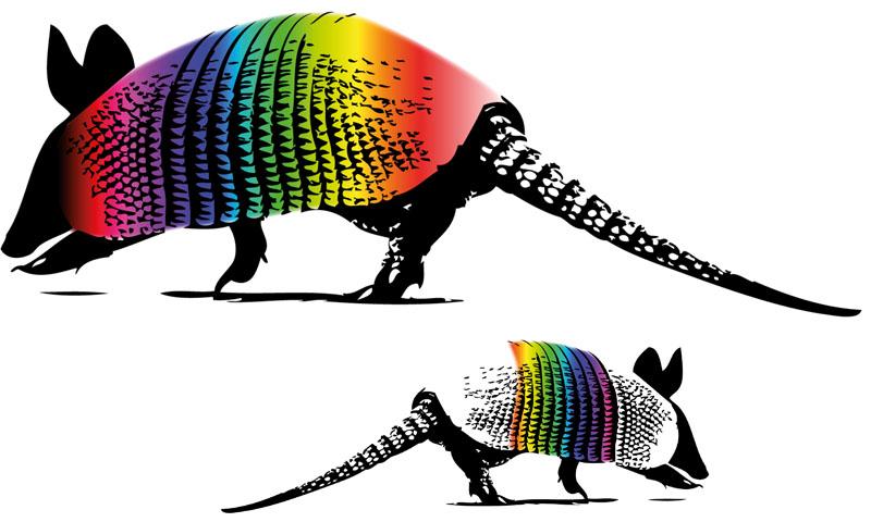 Gürteltier Logo - Entwurf 1 - Complexis RGB