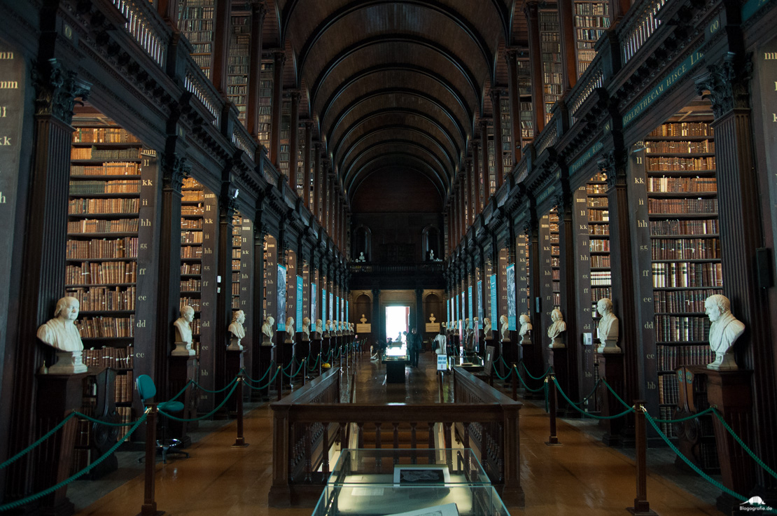 Dublin Trinity College Bibliothek - Vorher