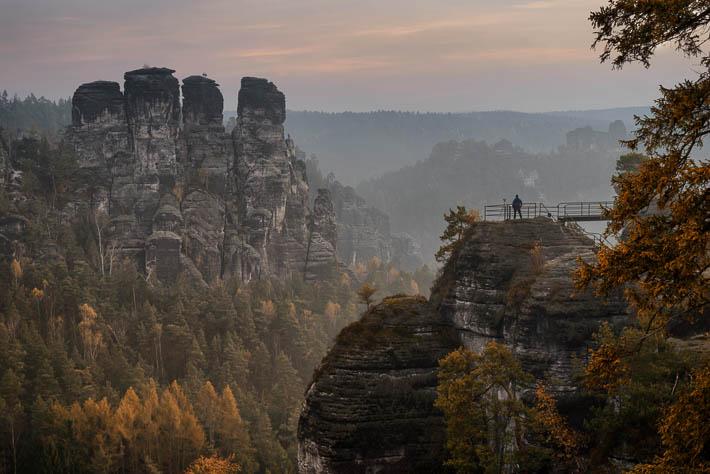 elbsandsteingebirge - bastei- fotograf - vorher / nachher
