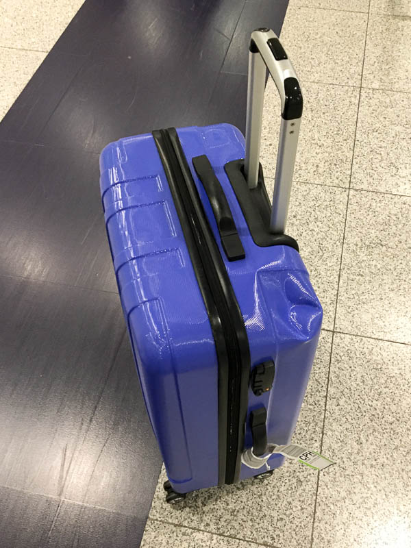 Mein zerbeulter Koffer