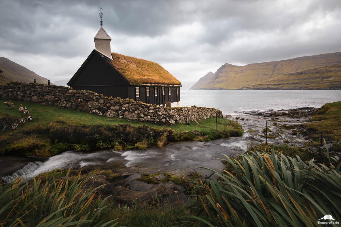 Die Kirche in Funningur