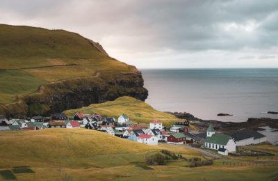 Gjogv auf den Färöer Inseln