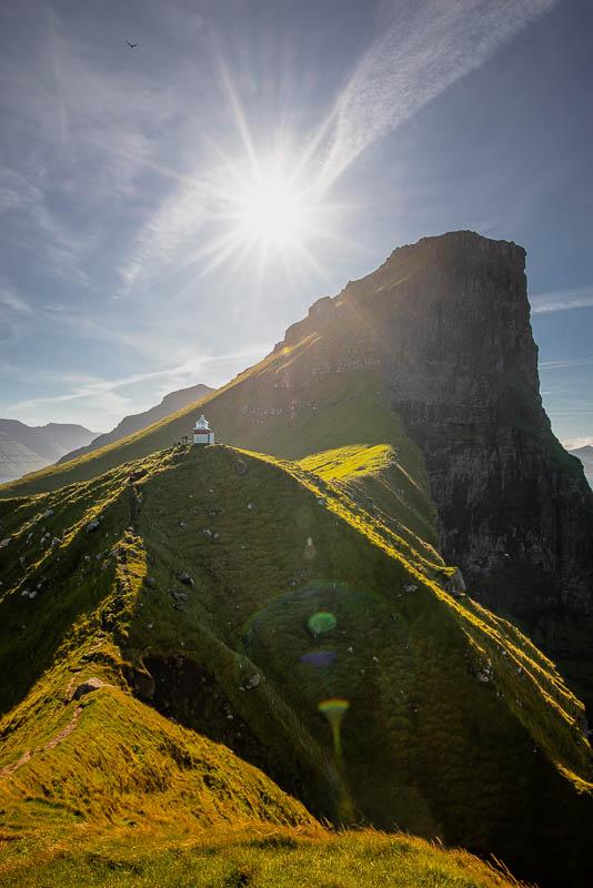 Kalsoy Leuchtturm fotografieren