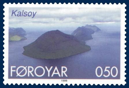Briefmarke von Kalsoy