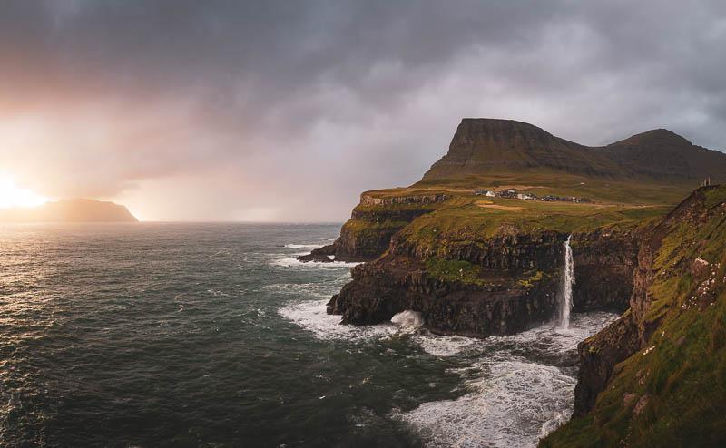 Mulafossur auf den Färöer Inseln