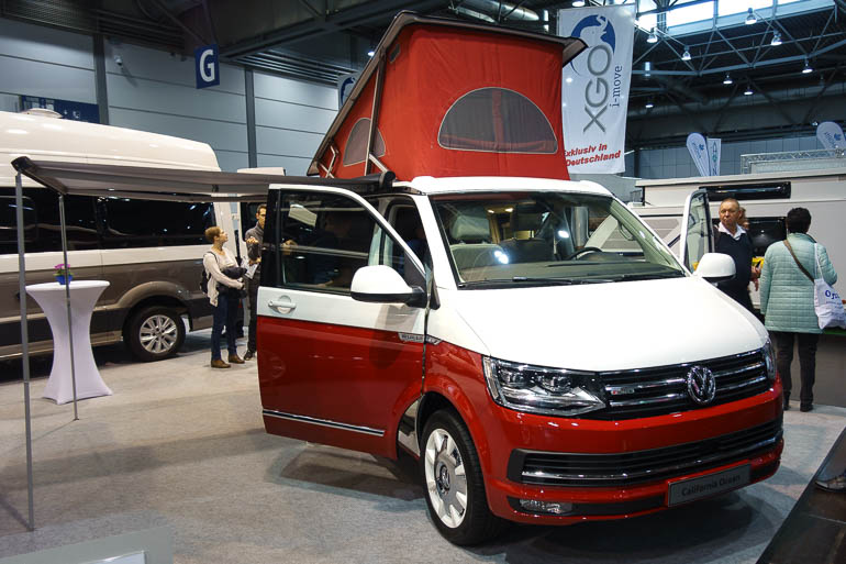 TC Touristik & Caravaning Leipzig - vw T6 california