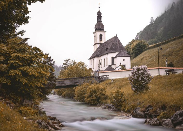 Pfarrkirche St. Sebastian in Ramsau bei Berchtesgaden