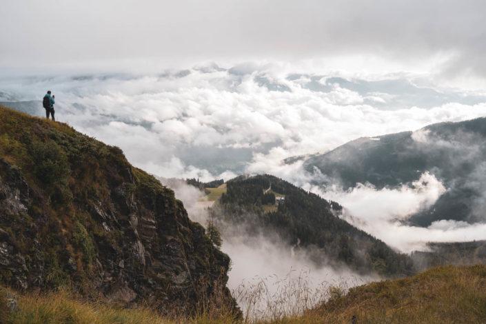 Wanderung zur Gasselhöhe: Wolken, Frust und Euphorie