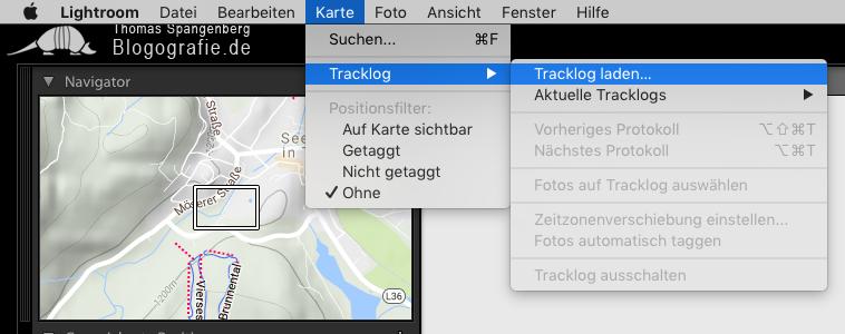 geo-tagging_lightroom_tracklog_laden