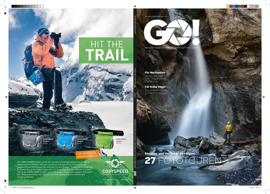 GO! Magazin . 27 Fototouren in den Alpen