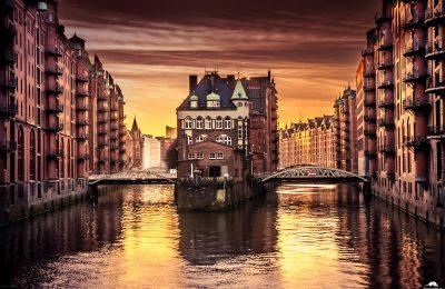 Hamburg - Speicherstadt - Wasserschloss
