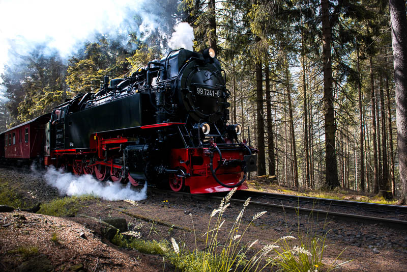 Brockenbahn in Schierke