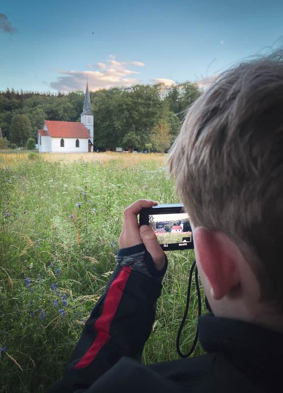 Holzkirche in Elend fotografieren