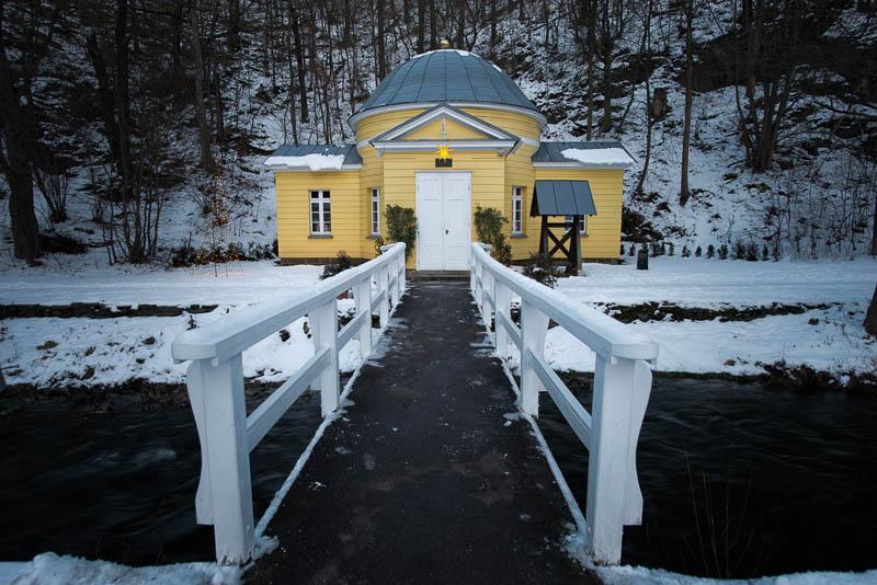 Petruskapelle in Alexisbad im Schnee