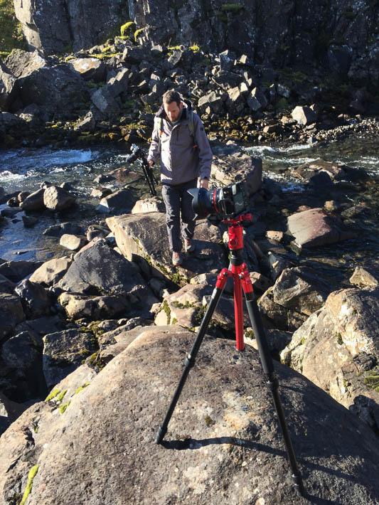 island - gufufoss - fotograf
