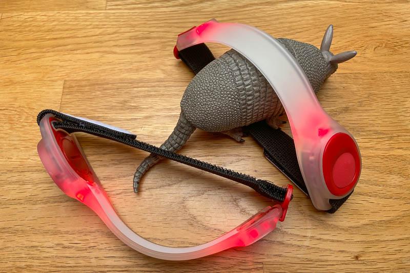 LED-Armbänder fürs Laufen