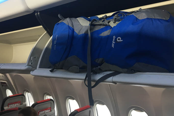 Übergroßes Handgepäck bei Norwegian Air