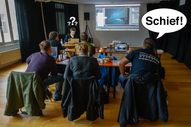 Seminar zur Bildbearbeitung von Astrolandschaften mit Matt Aust